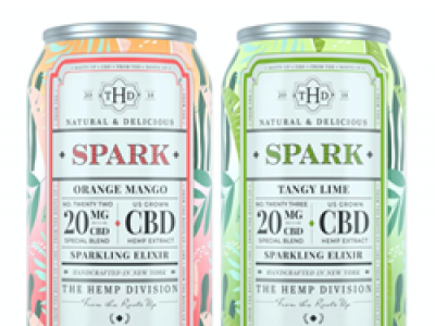 Start Summer with a Spark: The Hemp Division Releases New CBD Sparkling Elixir