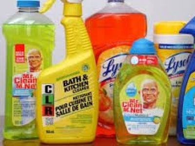 Stay safe while using household cleaning and disinfectant products to fight COVID-19
