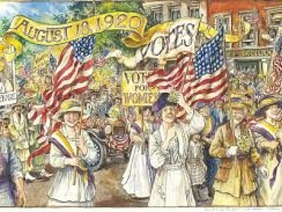 We Got the Vote 100 Years Ago Today!