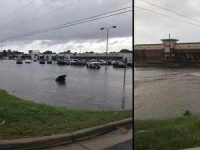 Flooding in Muscle Shoals