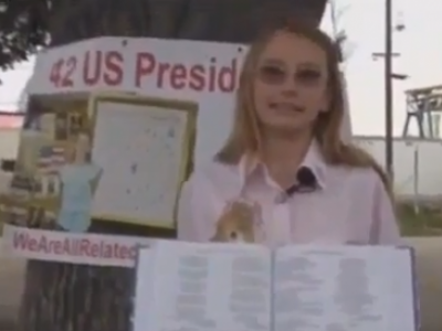 12 Year Old Girl Discovers That All But One US President Are Directly Related