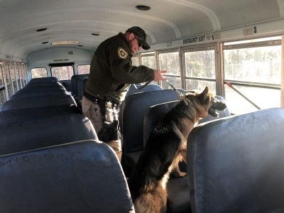 SHERIFF'S OFFICE HAS NEW K9