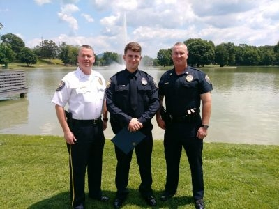 New Florence Police Officer Installed