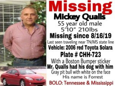Missing: Mickey Qualls - Update: Bodies Found