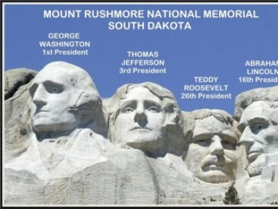 MOUNT RUSHMORE NATIONAL MEMORIAL - WHY THESE FOUR PRESIDENTS